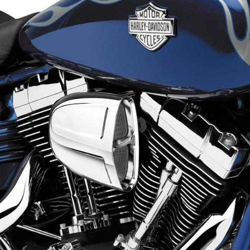 Cobra 3 Inch Slip-On Black Mufflers with Tips for 2004-2012 HD Sportster Model