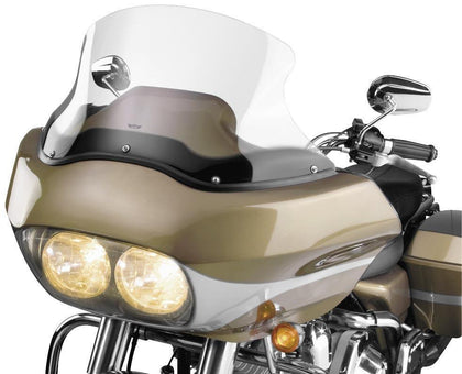 National Cycle VStream 12 in. Light Tint Windscreen for Harley Davidson 1998-20 - N/A