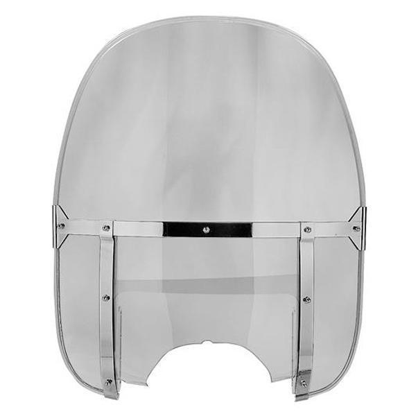 National Cycle N2230 Beaded Heavy Duty Clear Windshield for Wide Frame Yamaha C
