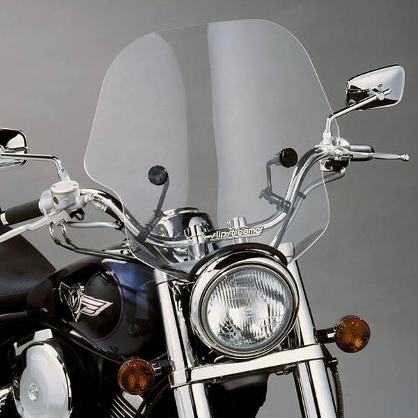 Slip Streamer SS-10 Viper Windshields for 1973-2011 Kawasaki Motorcycles with 7/8 in. or 1 in. Handlebars