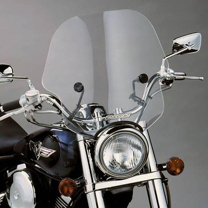 Slip Streamer SS-10 Viper Windshields for 2000-2011 Cruiser Motorcycles with 1-1/4 in. Handlebars