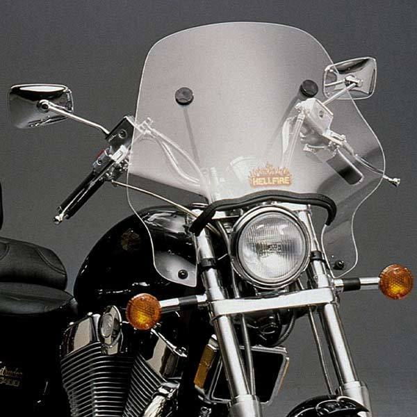 Slip Streamer Hellfire SS-24 Windshield for 1968-2011 Honda Motorcycles