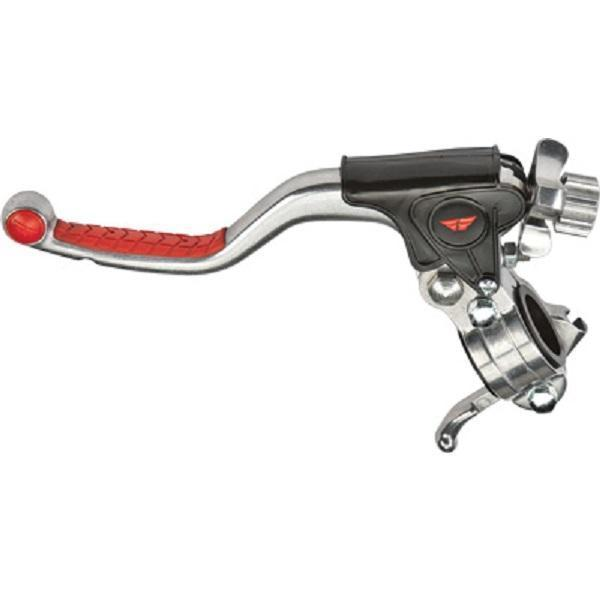 Fly Racing Pro Kit Standard Red Grip Lever for All 4-Stroke - N/A