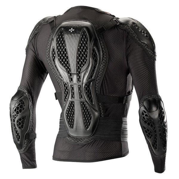 Alpinestars Bionic Action Men's Black/Red Protective Motocross Jacket - N/A