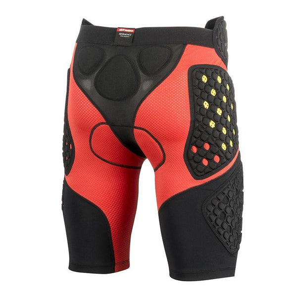 Alpinestars Sequence Pro Men's Black/Red Protective Shorts - N/A