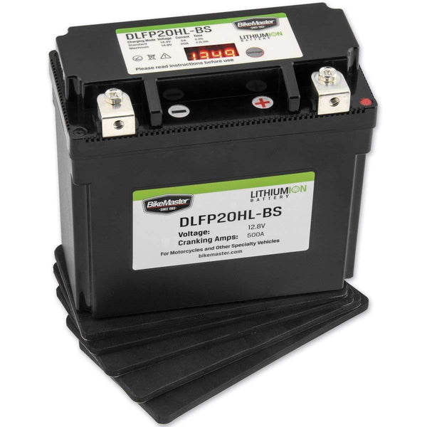 BikeMaster DLFP-20HL-BS Lithium-Ion Battery - N/A