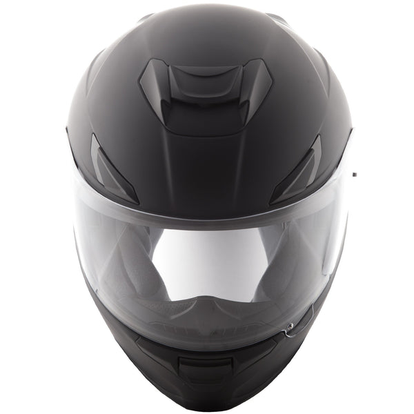 Fly Racing Sentinel Matte Black Full Face Helmet - N/A