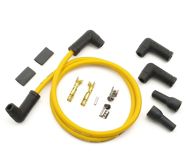 Accel Yellow 90 degree 8.8mm 2 Plug Wire Set