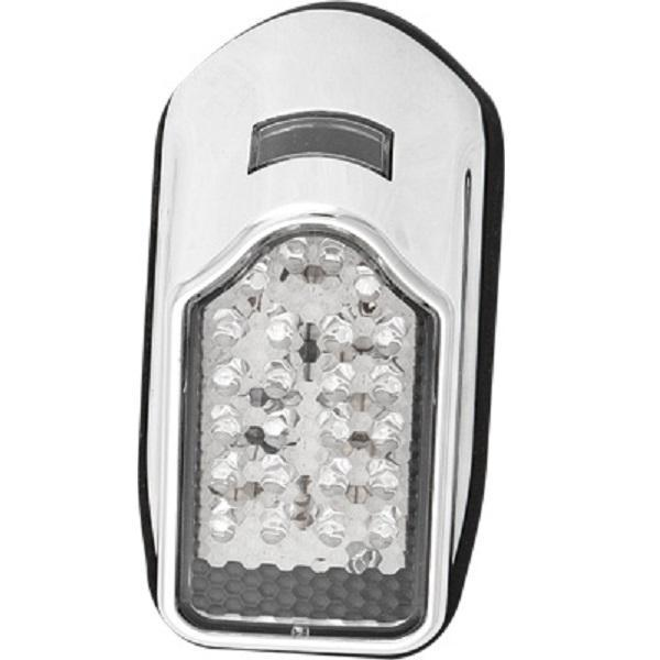 HardDrive Mini Tombstone LED Taillight without License Plate Bracket (2-1/2 in. X 4-7/8 in.) for Harley Davidson
