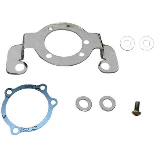 HardDrive Complete Air Cleaner Bracket/Breather Kit for Harley Davidson 2007-14