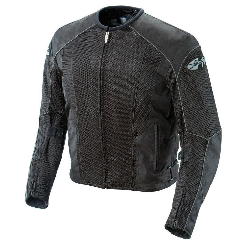 Joe Rocket 'Phoenix 5.0' Mens Black Mesh Motorcycle Jacket