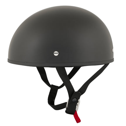 Speed and Strength SS210 'Solid Speed' Matte Black Half Helmet