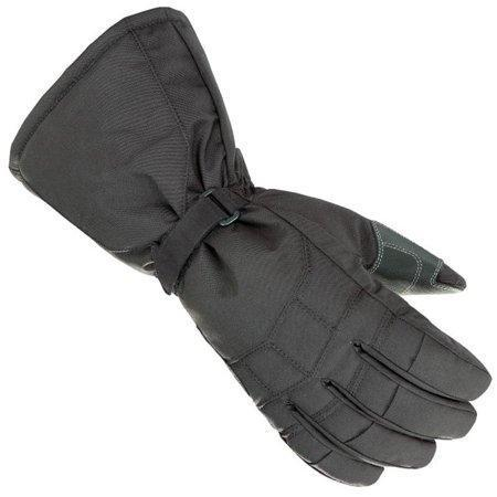 Joe Rocket 'Sub Zero' Mens Black Textile Snowmobile Gloves