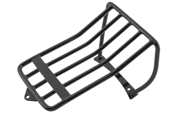 Biker's Choice Luggage Rack for Harley Davidson 2006-13 FXST with 200mm. Tire Bobbed Rear Fender with 2-Up Seat - N/A