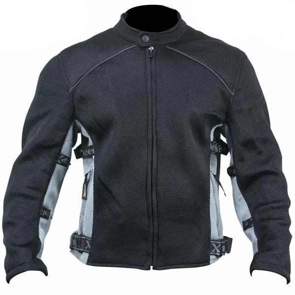 Xelement CF505 Men's Black Advanced Level-3 Mesh Sports Jacket