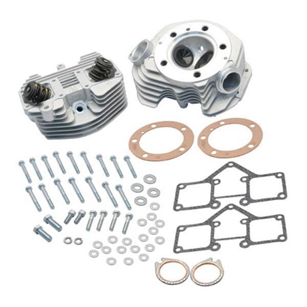 S&S Shovelhead Aluminum Stock Bore Cylinder Head Kit for Harley Davidson 1966-78 engines with O-Ring manifold