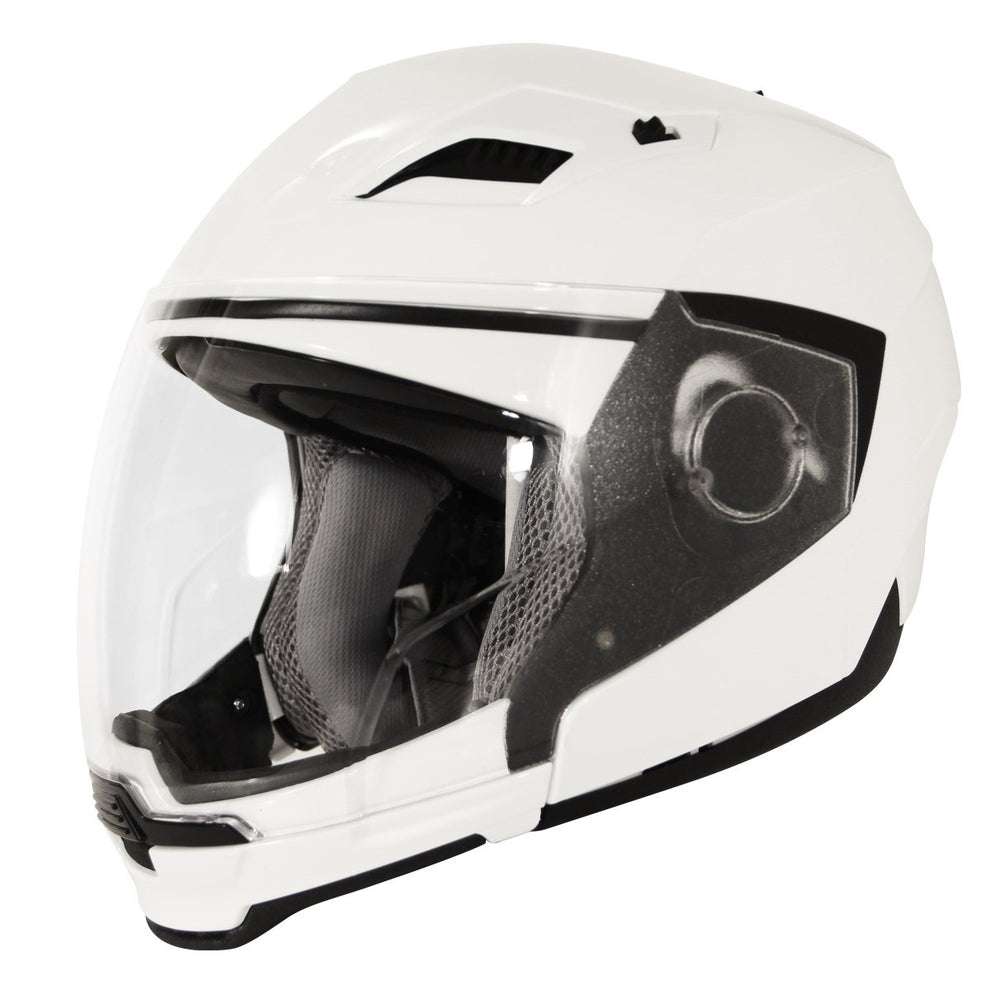 Hawk ST-553-13WG Evolution 2-IN-1 White Modular Helmet