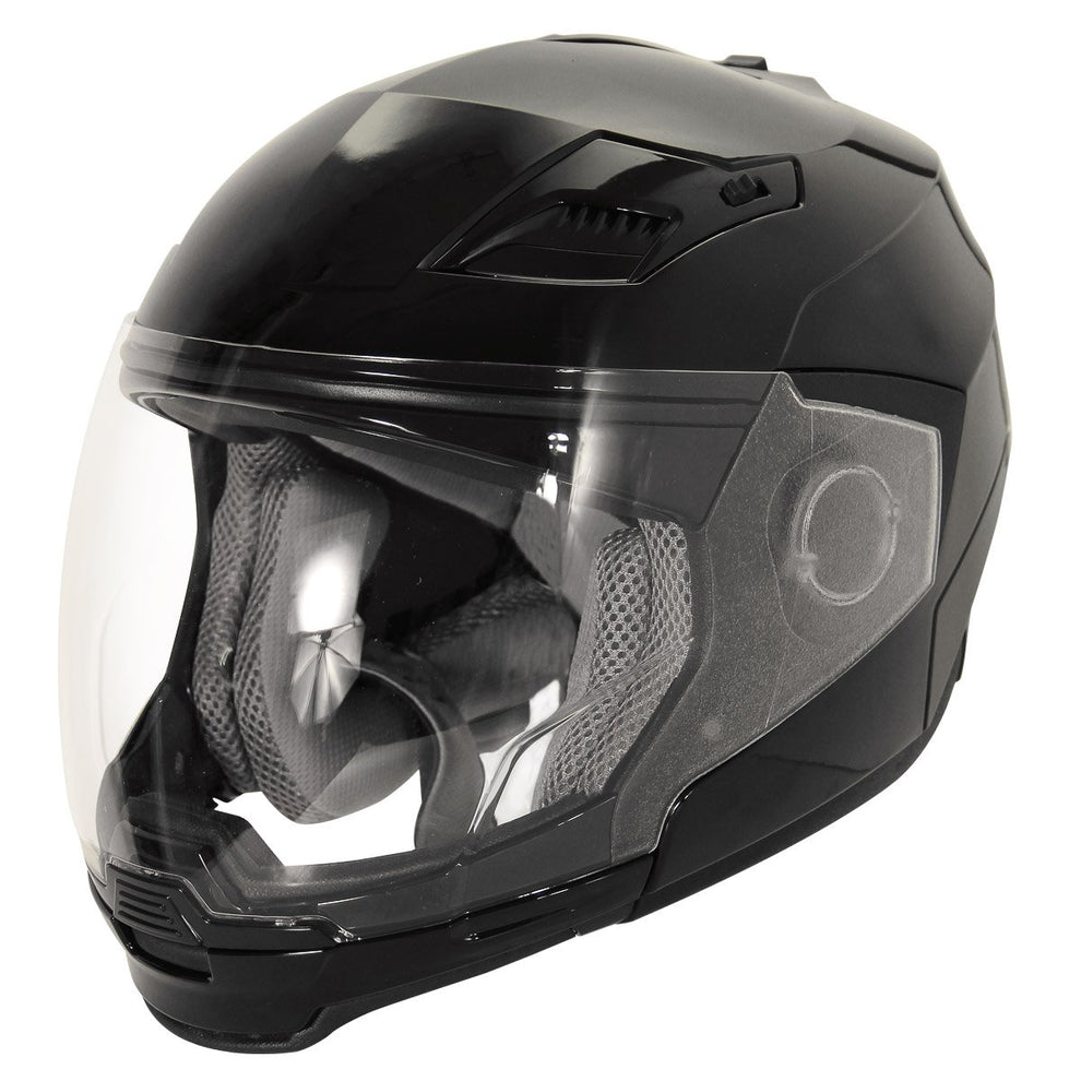 Hawk Evolution 2-IN-1 Black Modular Helmet