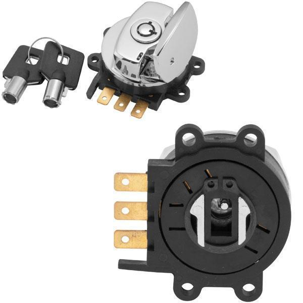 Standard Ignition Switch for Harley Davidson 1996-2002 Softail, 1993-2002 FXDWG, 1994-2002 FLHR