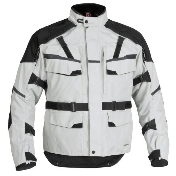 Firstgear 'Jaunt T2' Silver/Black Textile Jacket