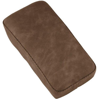 Le Pera Spring Mounted Solo Bomber Brown Narrow Pillion Pad for Harley Davidson