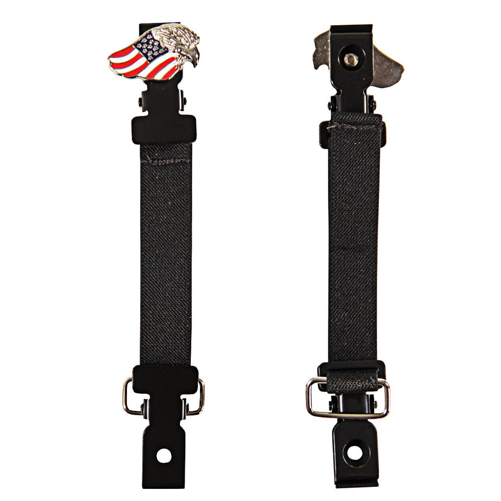 Pant Bungee with Eagle and United States Flag Concho