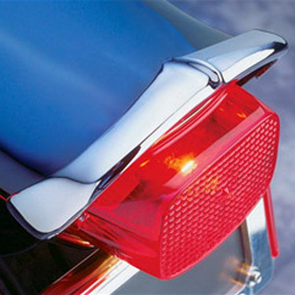 National Cycle Rear Chrome Fender Tips for 2005-2009 Suzuki C90/C90T Boulevard