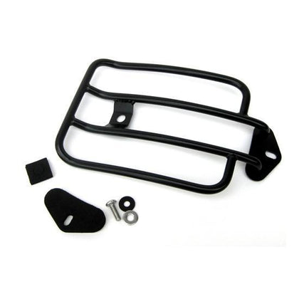 Motherwell Black Solo Luggage Racks for 2004-2010 Harley Davidson XL Models w/Detachable Side Plates