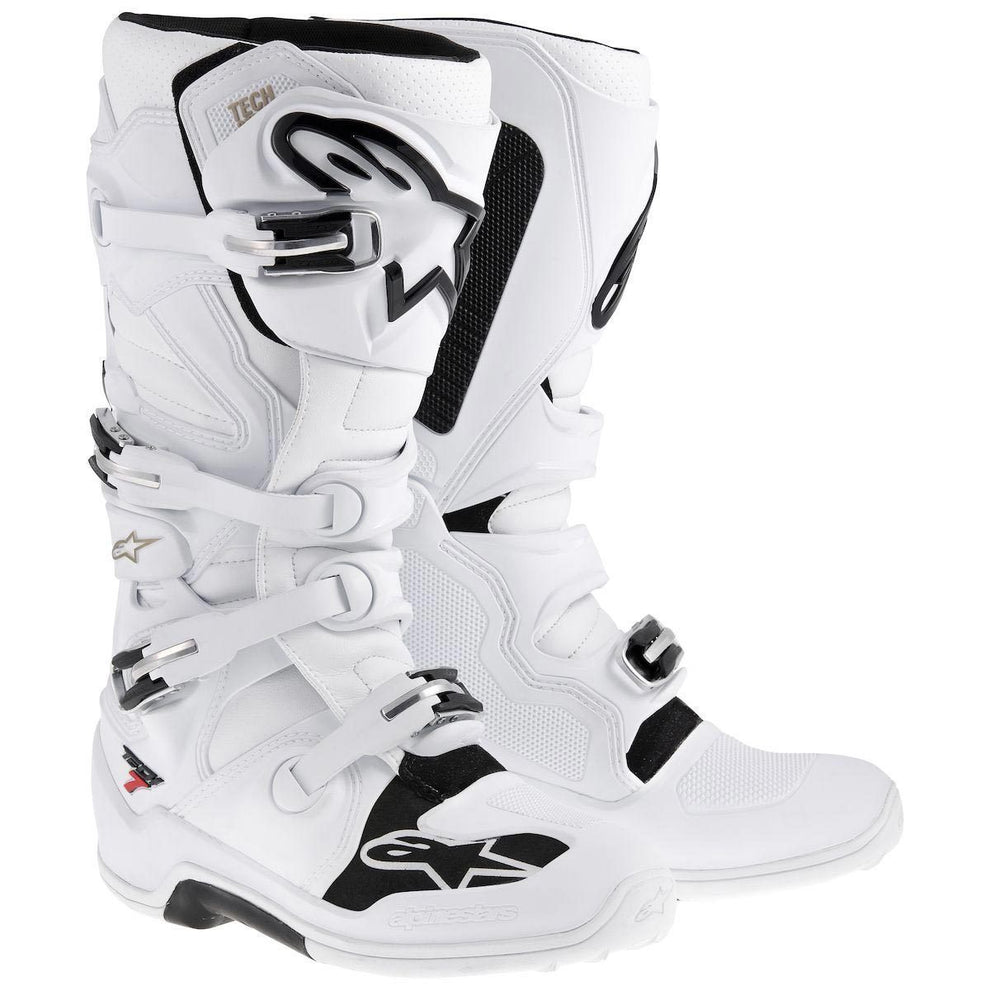 Alpinestars Tech 7 Men's White Motocross Boots