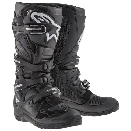 Alpinestars Tech 7 Enduro Men's Black Motocross Boots