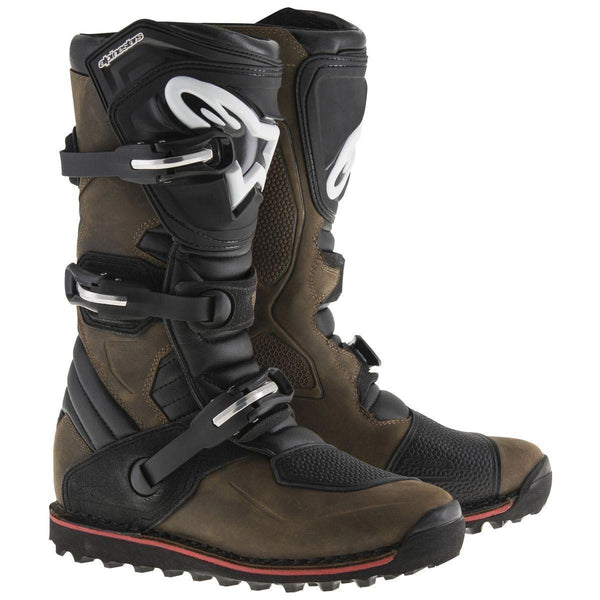 Alpinestars Tech-T Men's Brown Motocross Boots - N/A
