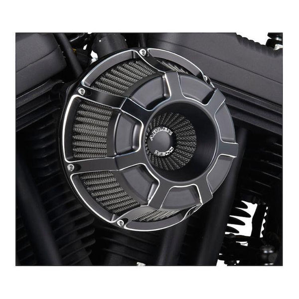 Arlen Ness Inverted Series Bevelled Air Cleaner Kit for Harley Davidson 1988-2013 Sportster models - N/A