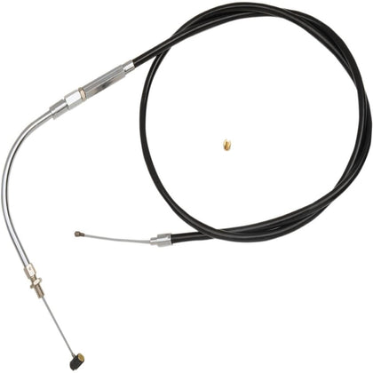 Barnett Vinyl Idle Cable (+4in.) for Harley Davidson 1996-2006 XLH 883 STD/C, 2004-06 XLH 1200R