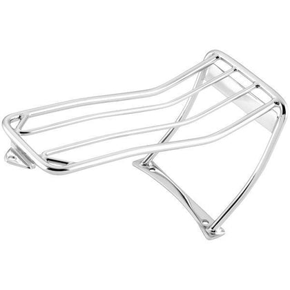 Biker's Choice Luggage Rack for Harley Davidson 2000-05 FXST Bobbed Rear Fender with 2-Up Seat - N/A