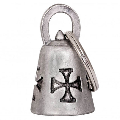 Hot Leathers BEA1005 Iron Cross Guardian Bell - Hot Leathers Bells