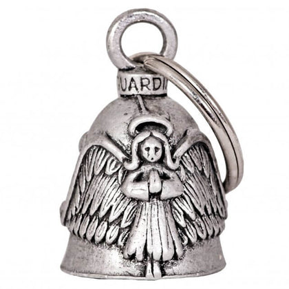 Hot Leathers BEA1042 Angel and Wings Guardian Bell - Hot Leathers Bells