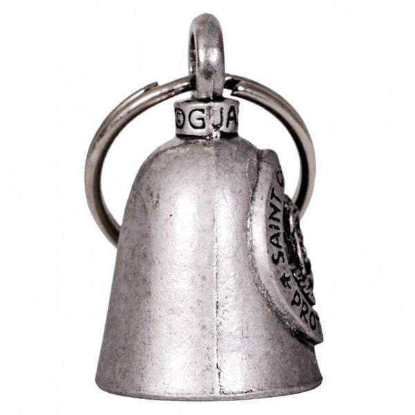 Hot Leathers BEA1085 St. Christopher Guardian Bell - Hot Leathers Bells