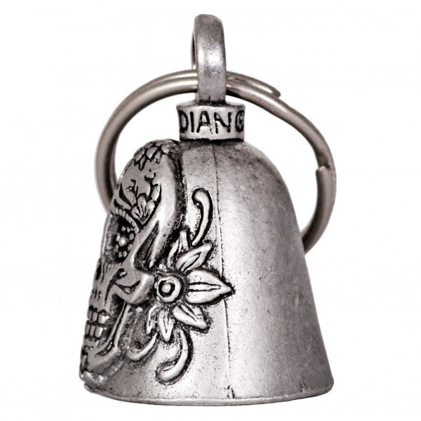 Hot Leathers BEA1108 Sugar Skulls Guardian Bell - Hot Leathers Bells