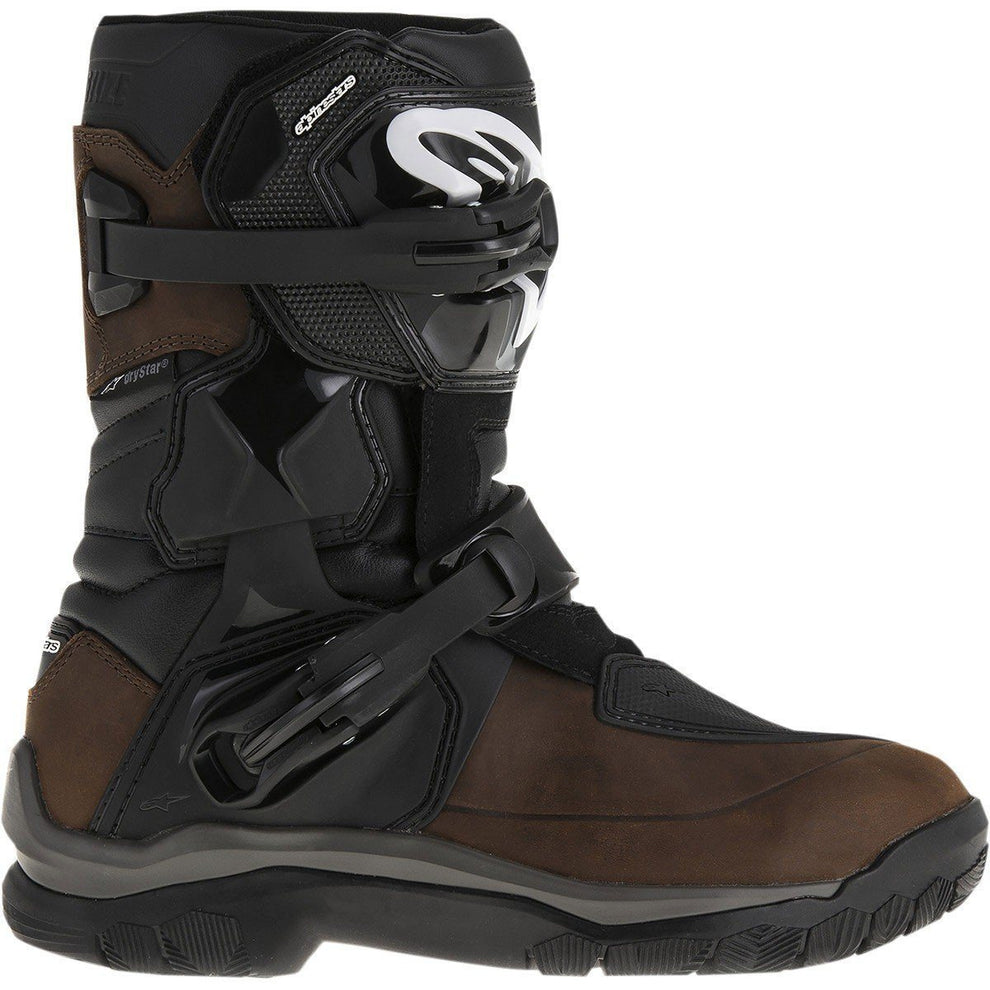 Alpinestars Belize Drystar Men S Brown Motorcycle Boots