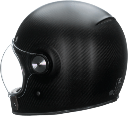 Bell Bullitt Carbon Matte Black Full Face Helmet - Bell Full Face Helmets
