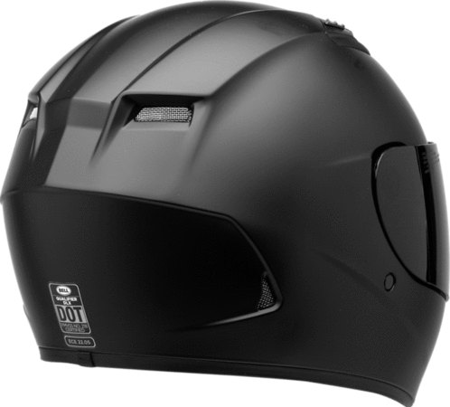 Bell Qualifier DLX Blackout Matte Black Full Face Helmet - Bell Full Face Helmets