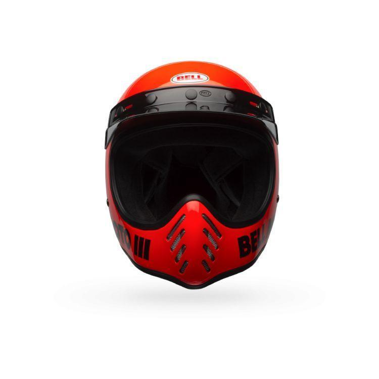 Bell Moto-3 Fluorescent Orange Full Face Helmet