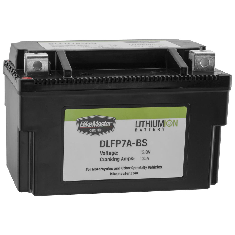 BikeMaster DLFP-7A-BS Lithium-Ion Battery
