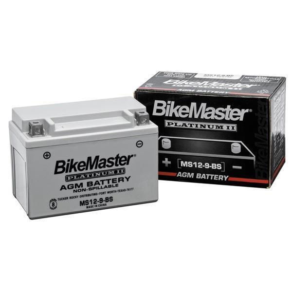 BikeMaster AGM Platinum II Battery MS12-10ZS - N/A