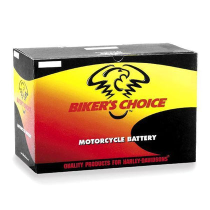 Biker's Choice YTX-14H Maintenance Free VRLA Battery for 2000-2009 Buell Models - N/A