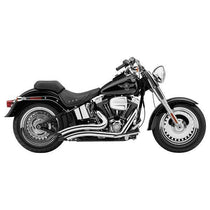 Cobra Speedster Short Swept Chrome Complete Exhaust System for Harley Davidson 2012-13 Softail