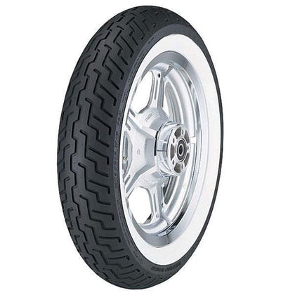 Dunlop D404 Whitewall Metric Cruiser Front Tire - [product_type]