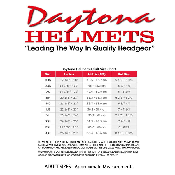 Daytona Helmets D6-SS 'Skull Cap' with Snakes and Skulls Half Face Helmet