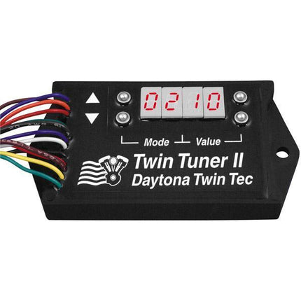Daytona Twin Tec Twin Tuner II Fuel Injection and Ignition Controllers for 2001-2011 Harley Davidson Twin Cam with Delphi EFI  (except 2008-2011 FL?s)