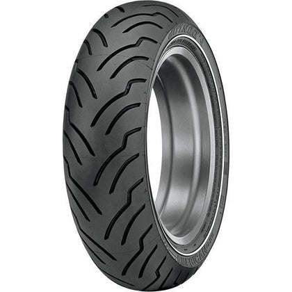 Dunlop American Elite 180/65B16 Rear Narrow Whitewall Tire for Harley Davidson